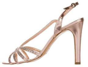 Marc Jacobs Metallic Embellished Sandals