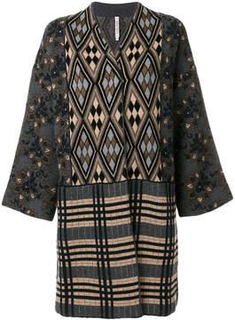 Antonio Marras patterned cardi-coat