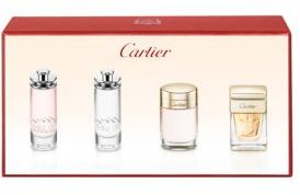 Four-Piece Feminine Miniature Fragrance Gift Set
