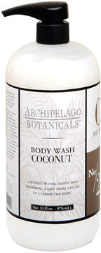 Archipelago Botanicals Coconut Body Wash by 33oz Body Wash)