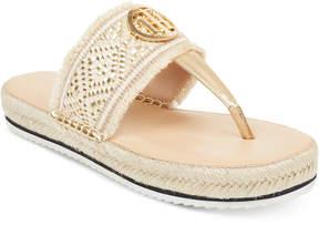 Tommy Hilfiger Nazia Espadrille Flatform Sandals Women's Shoes
