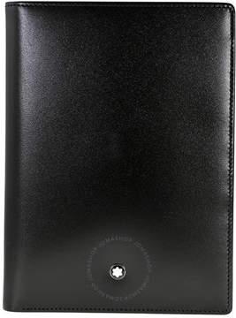 Montblanc Meisterstuck 7CC Black Leather Vertical Wallet