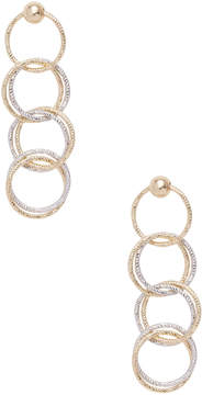 Candela Women's 14K Yellow & White Gold Multi Circle Dangle Earrings