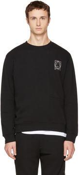 McQ Black Glyph Logo Sweatshirt
