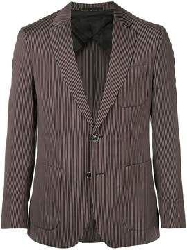 Cerruti striped single-breasted blazer