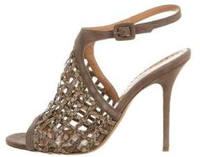 Alexa Wagner Linus Woven Sandals w/ Tags