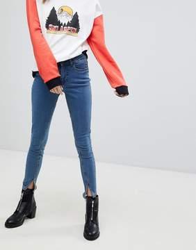 Noisy May Split Hem Skinny Jean