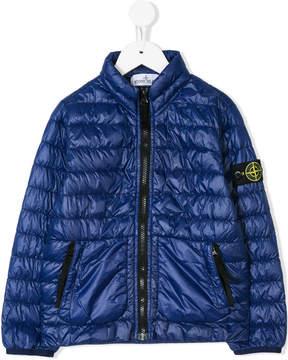 Stone Island Junior padded bomber jacket