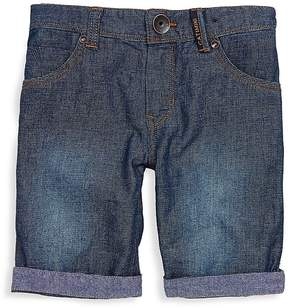 Catimini Little Boy's & Boy's Textured Denim Shorts