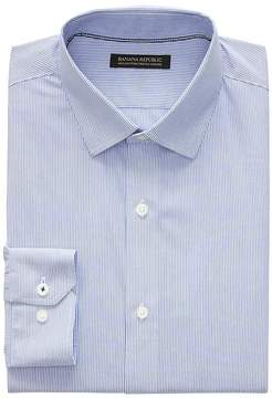 Banana Republic Camden Standard-Fit Non-Iron Stretch Stripe Shirt