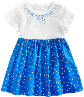 First Impressions Dot-Print Cotton Tunic, Baby Girls (0-24 months), Created for Macy's