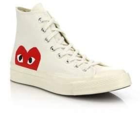 Comme des Garcons Peek-A-Boo Canvas Sneakers
