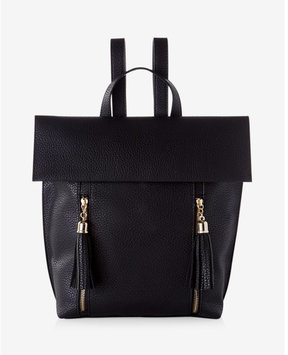 Express Pebbled Tassel Backpack