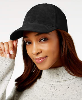 Nine West Faux-Suede Baseball Hat