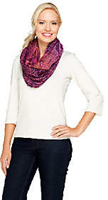 Collection XIIX Collection 18 Tranquil Scales Woven Infinity Scarf
