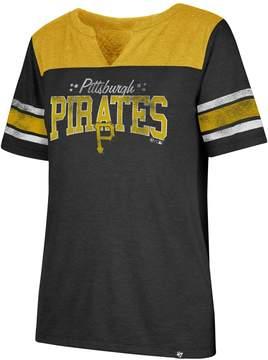 '47 Women's Pittsburgh Pirates Match Tri-Blend Tee