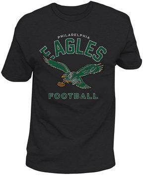 Authentic Nfl Apparel Men's Philadelphia Eagles Midfield Retro T-Shirt