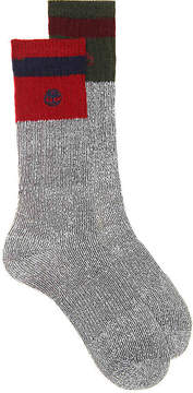Timberland Boys Stripe Cuff Toddler & Youth Boot Socks - 2 Pack