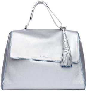 Orciani Light Blue silver Color Sveva Bag With Charm