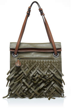 Bottega Veneta Hobo Intrecciato Leather Shoulder Bag