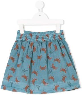 Bobo Choses a-line printed skirt