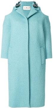 Anya Hindmarch cold shoulder coat