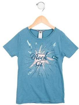 Bonpoint Boys' Printed Short Sleeve T-Shirt