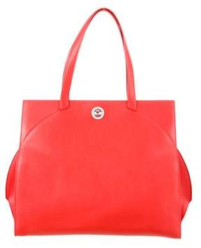 Bvlgari Leather Tote Bag