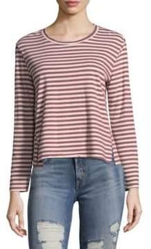 Amo Striped Crewneck Pullover