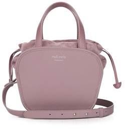 Meli-Melo Women's Pink Leather Shoulder Bag.