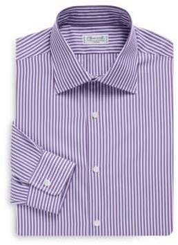 Charvet Regular-Fit Bold Stripe Dress Shirt
