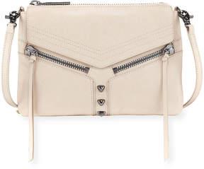 Botkier Trigger Leather Crossbody Bag, Cream