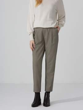Frank and Oak Houndstooth Pleated Trousers