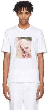 Jil Sander White Mario Sorrenti Edition 005 T-Shirt