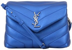 Saint Laurent Loulou Toy Bag - BLUETTE - STYLE