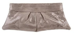 Lauren Merkin Metallic Eve Clutch