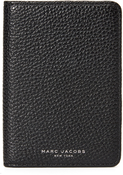 Marc Jacobs Gotham Passport Cover - BLACK - STYLE