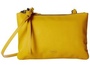 Lipault Paris Plume Elegance Leather Multi Pouch Bag