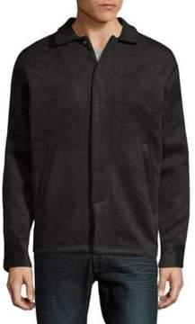 Publish Spread Collar Heathered Jacket