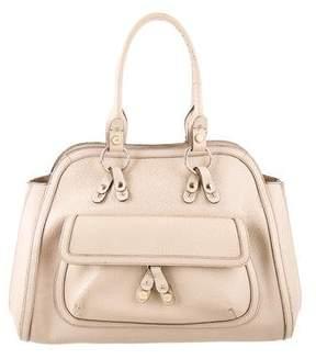 Anya Hindmarch Textured Leather Handle Bag