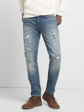 Gap Cone Denim® Destructed Jeans in Skinny Fit with GapFlex