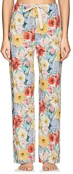Araks Women's Ally Floral Cotton Poplin Pajama Pants