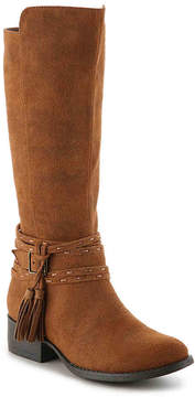 Steve Madden Braylin Youth Riding Boot - Girl's