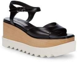 Stella McCartney Leather Platform Sandals