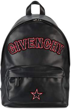 Givenchy small logo applique backpack