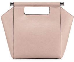 Neiman Marcus Minimalista Top-Handle Tote Bag