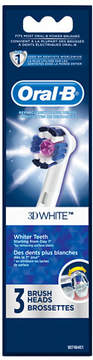 Oral-B Professional Care 3D White Replacement Electric Toothbrush Heads