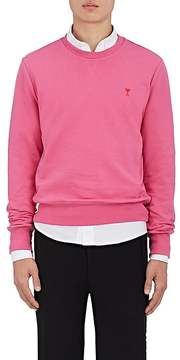 Ami Alexandre Mattiussi Men's Heart-Logo Cotton Terry Sweatshirt
