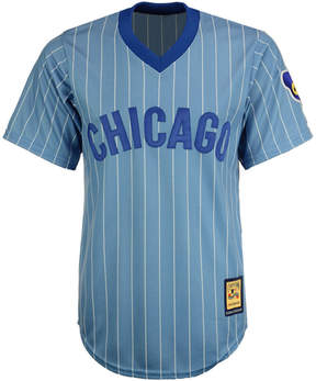 Majestic Men's Chicago Cubs Cooperstown Blank Replica Cb Jersey