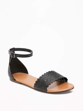 Old Navy Perforated Two-Piece Sandals for Girls